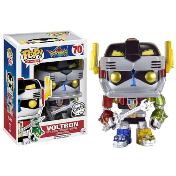 Funko Voltron (Metallic) Pop! Vinyl