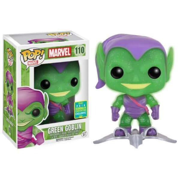 Funko Green Goblin (Translucent Glitter With Glider) Pop! Vinyl