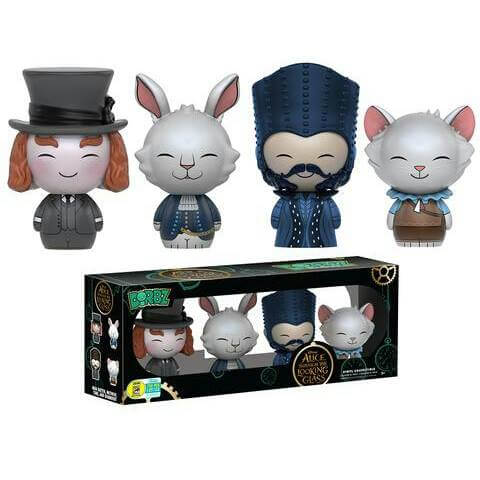 Vinyl Sugar Alice Through The Looking Glass 4-Pack Dorbz