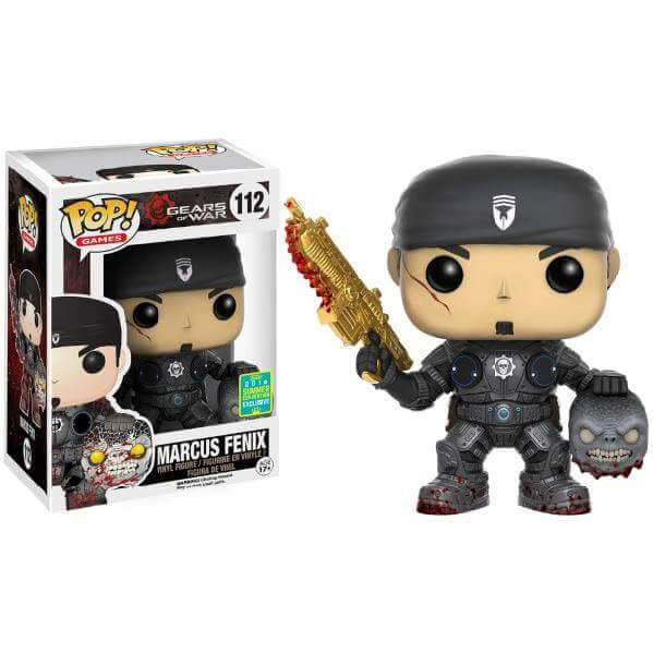 Funko Marcus Fenix With Head (Golden Lancer Variant) Pop! Vinyl