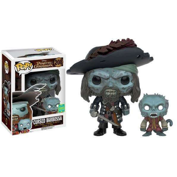 Funko Cursed Barbossa Pop! Vinyl