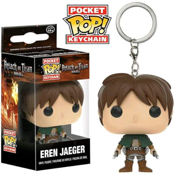 Funko Eren Jaeger Pop! Keychain