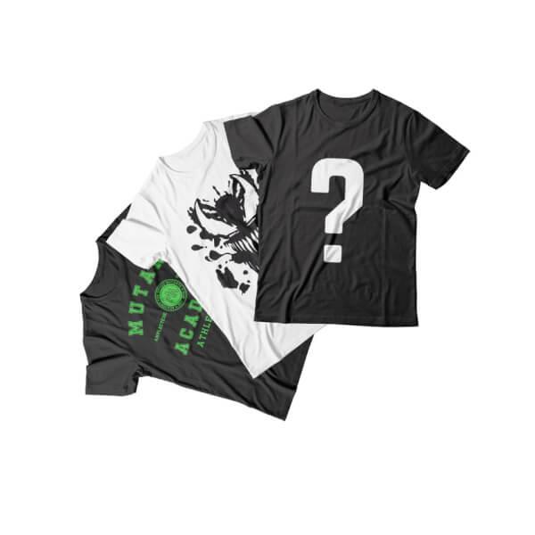 Mystery Geek T-Shirt - 3-Pack