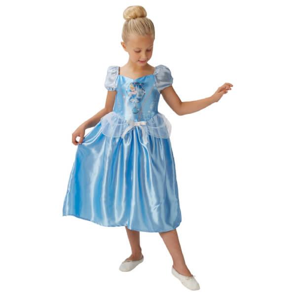 Disney Girls' Cinderella Fancy Dress Costume