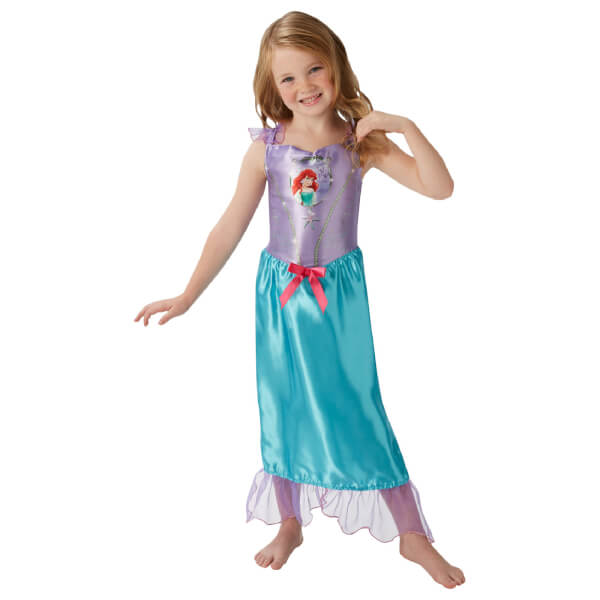 Disney Girls\' Little Mermaid Ariel Fancy Dress Costume Parties ...