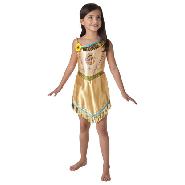 Disney Girls' Pocahontas Fancy Dress Costume