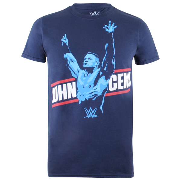 WWE Men's John Cena T-Shirt - Navy
