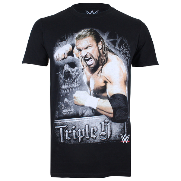 WWE Men's Triple H T-Shirt - Black