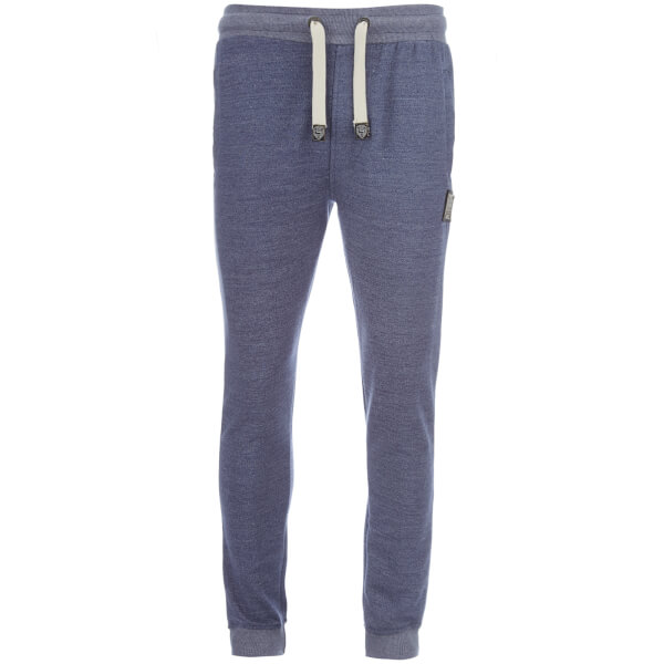Smith & Jones Men's Southwell Joggers - Deep Blue Marl