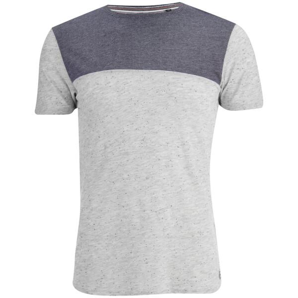 T-Shirt Homme Winfrey Brave Soul -Gris Chiné
