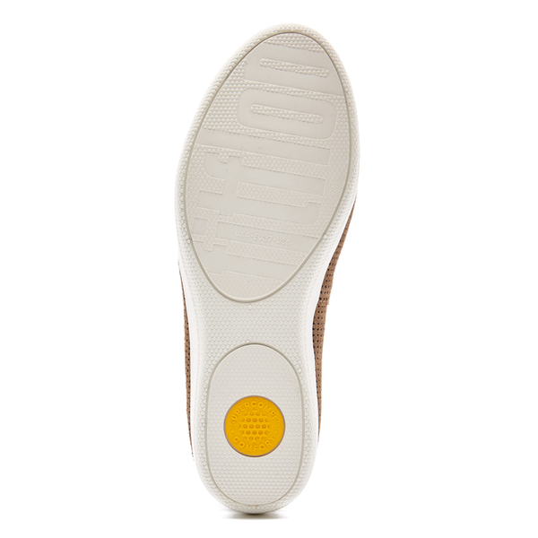 cae896f4ed81c9 FitFlop Women s Superskate Perforated Suede Slip On Trainers - Soft Brown   Image 6