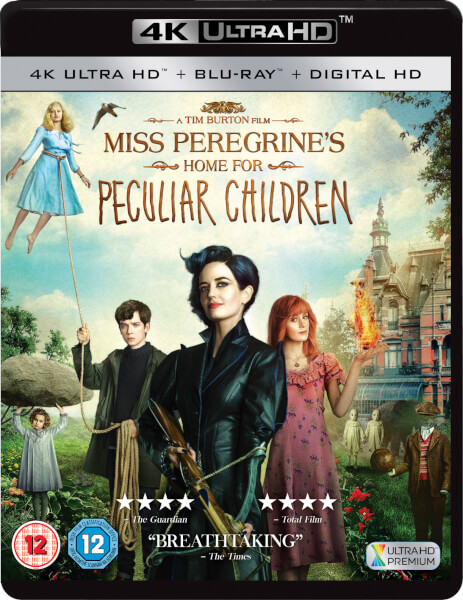 Miss Peregrine's Home For Peculiar Children - 4K Ultra HD (Includes Ultraviolet Copy)