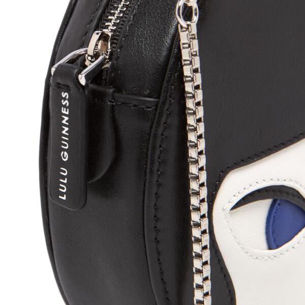 Womens Round Crossbody Cross-Body Bag Black (Black/Chalk) Lulu Guinness iLp5AbA9OZ