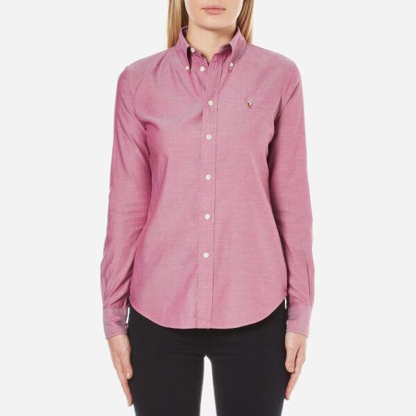 Polo Ralph Lauren Women's Harper Shirt - Raspberry