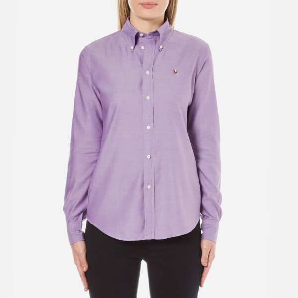 Polo Ralph Lauren Women's Harper Shirt - Bright Purple