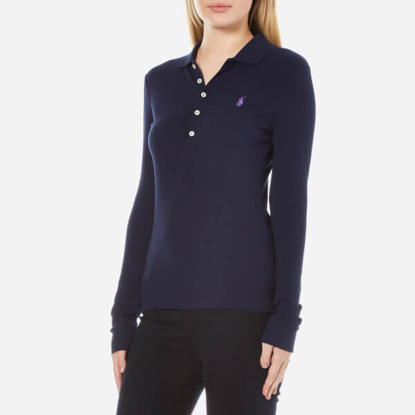 Polo Ralph Lauren Women 39 S Long Sleeve Julie Polo Shirt