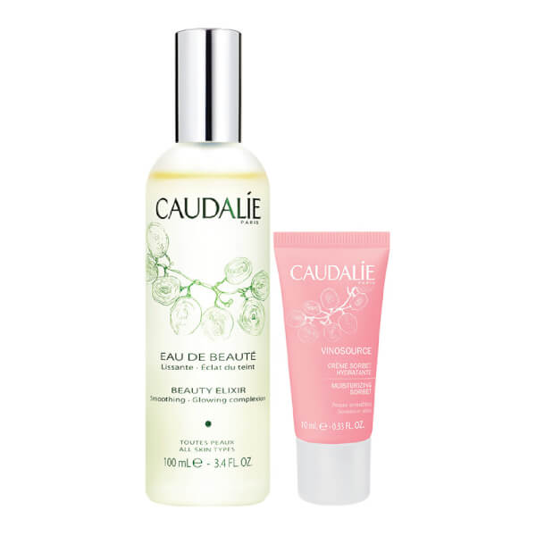 Caudalie Beauty Elixir & Vinosource Sorbet Exclusive Bundle (Worth $59.00)