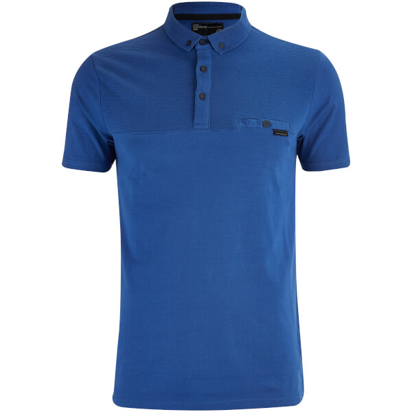 Dissident Men's Dunloe Polo Shirt - Monaco Blue