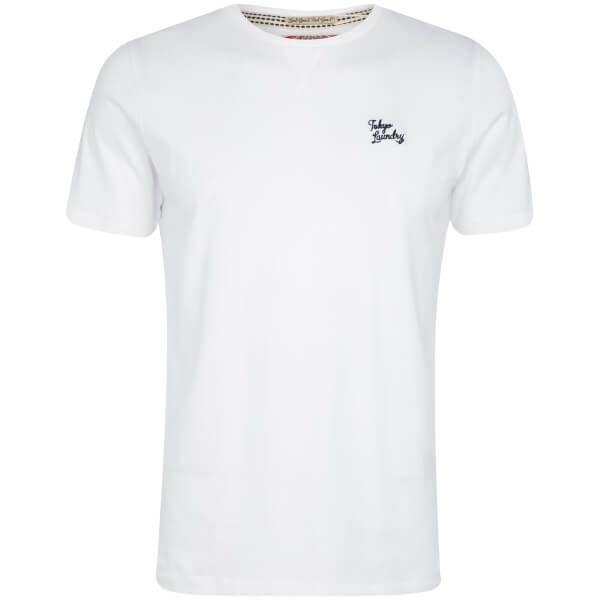T-Shirt Homme Essential Col Rond Tokyo Laundry - Blanc