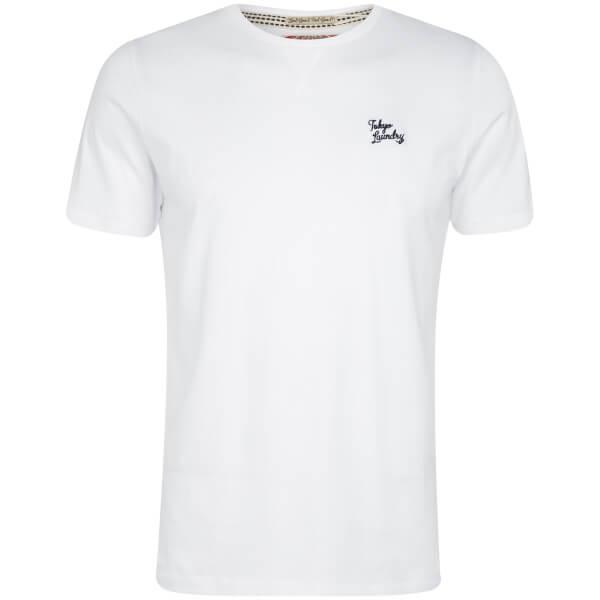 Tokyo Laundry Men's Essential Crew Neck T-Shirt - Optic White