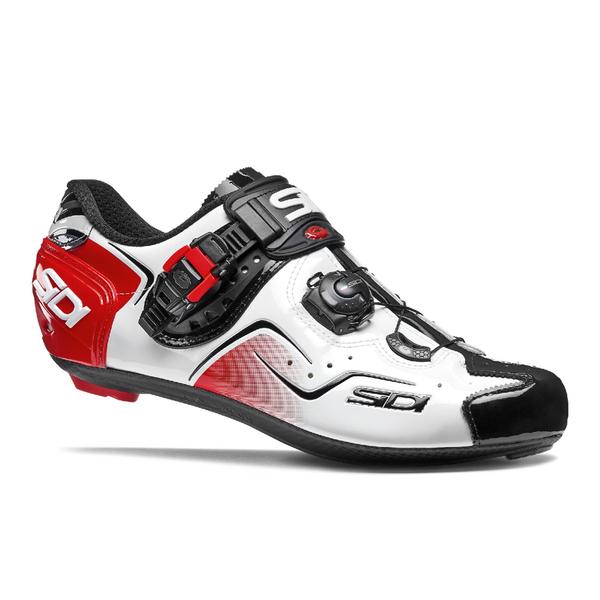 sidi kaos carbon cycling shoes white black