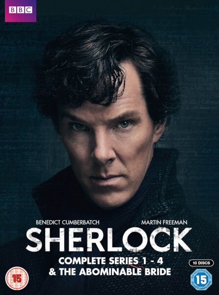 Sherlock - Series 1-4 & Abominable Bride Box Set