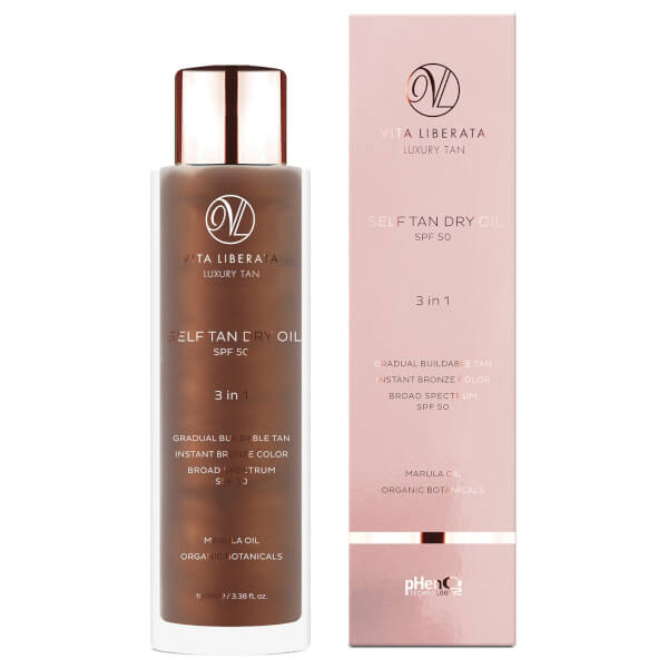 Vita Liberata Self Tan Dry Oil SPF50 100ml