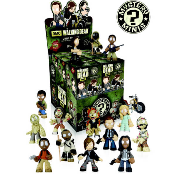 The Walking Dead Funko Mystery Mini Blind Boxed Figures