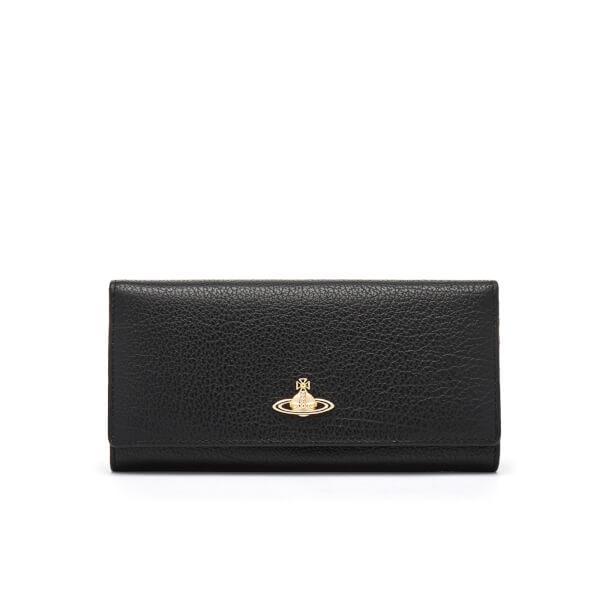c0dd00ee85 Vivienne Westwood Women's Balmoral Grain Leather Credit Card Purse - Black:  Image 1