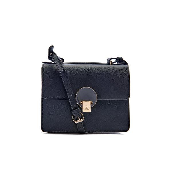 a9e53effbc Vivienne Westwood Women's Opio Saffiano Leather Small Shoulder Bag - Black:  Image 1