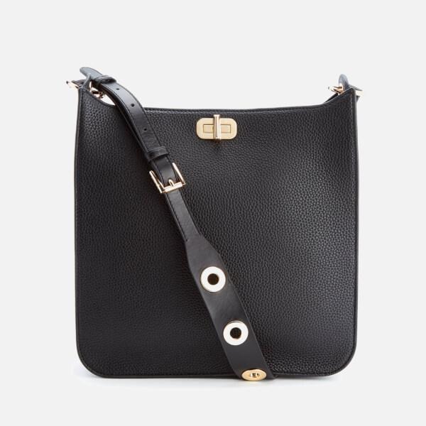 e718256afeb4 MICHAEL MICHAEL KORS Women s Sullivan Large North South Messenger Bag -  Black  Image 1