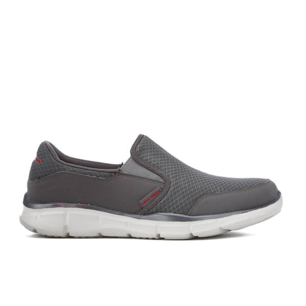 Skechers Men's Equalizer Persistent Slip-On Trainers - Grey