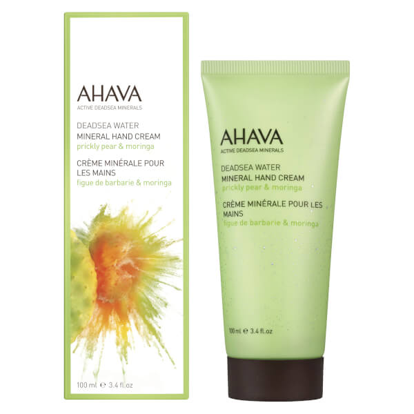 AHAVA Mineral Moringa and Prickly Pear Hand Cream 100ml