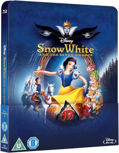 Snow White - Zavvi Exclusive Lenticular Edition Steelbook (The Disney Collection #1)