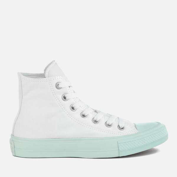 Converse Women's Chuck Taylor All Star II Hi-Top Trainers - White/Fiberglass