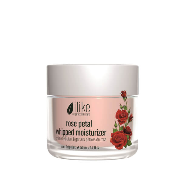 ilike organic skin care Rose Petal Whipped Moisturizer