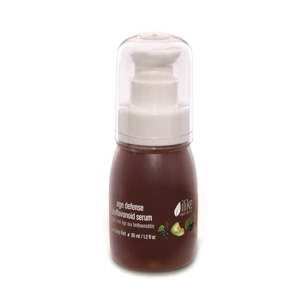 ilike organic skin care Age Defense Bioflavonoid Serum