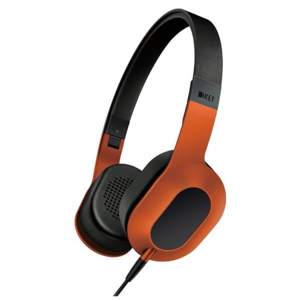 KEF M400 Headphones - Tangerine