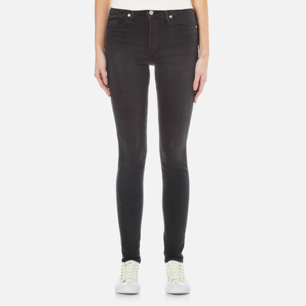 Levi's mile high super skinny jeans review