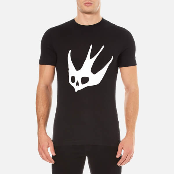 Black Swallow T-Shirt Alexander McQueen 2018 Unisex Amazon Footaction Extremely Sale Online Sale Great Deals iFT08y