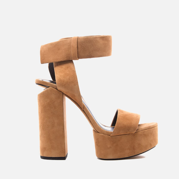 Alexander Wang Women's Keke Platform Heeled Sandals - Clay