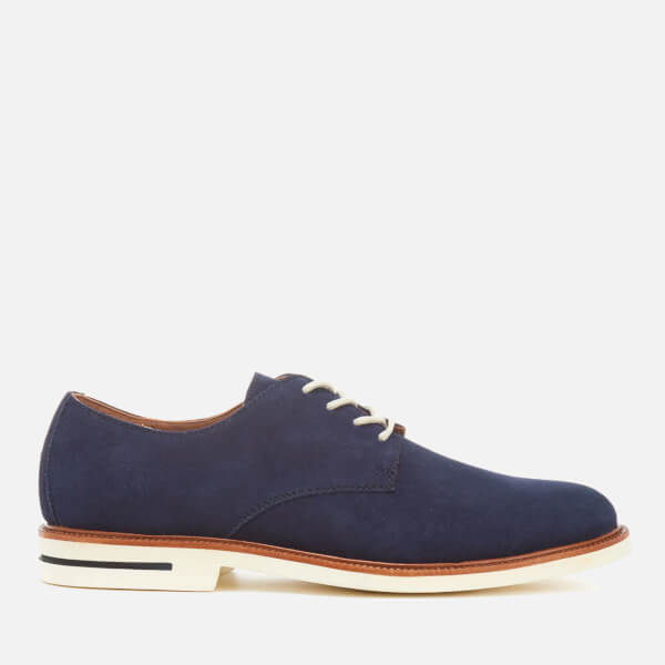 Polo Ralph Lauren Men's Torian Suede Derby Shoes - Newport Navy