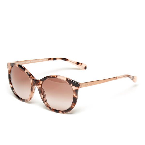 1e178bdd23 MICHAEL MICHAEL KORS Women s Island Tropics Sunglasses - Pink Tortoise   Image 3