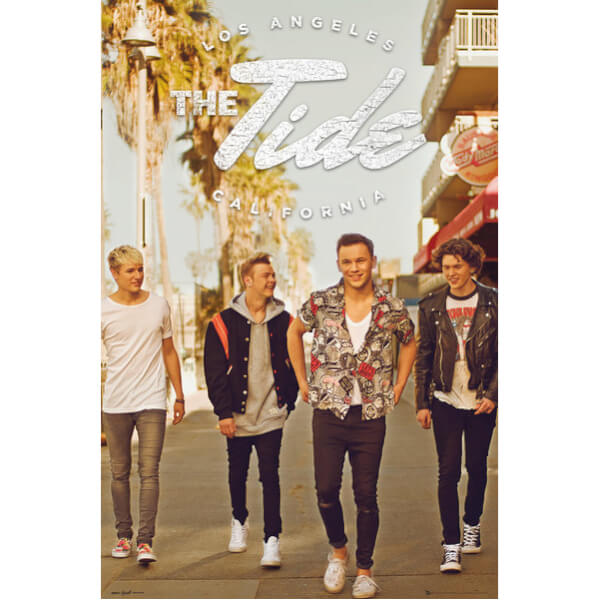 The Tide Band Maxi Poster - 61 x 91.5cm
