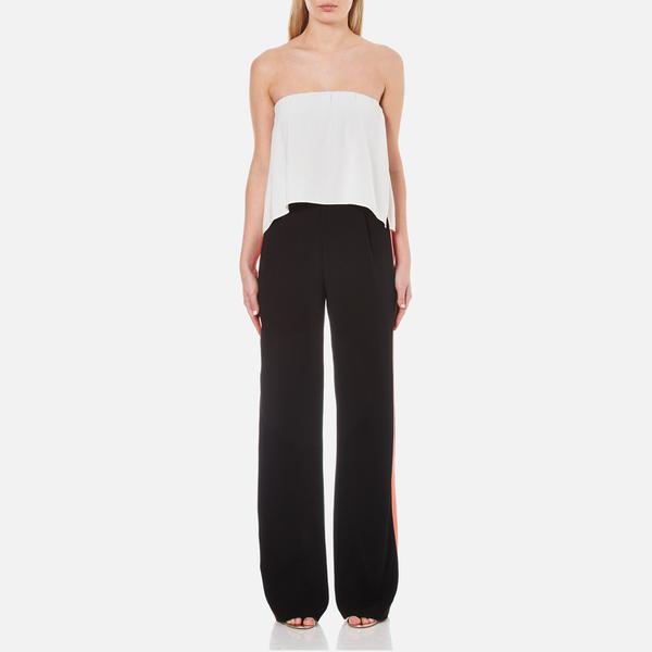 Diane von Furstenberg Women's Amare Jumpsuit - Ivory/Black