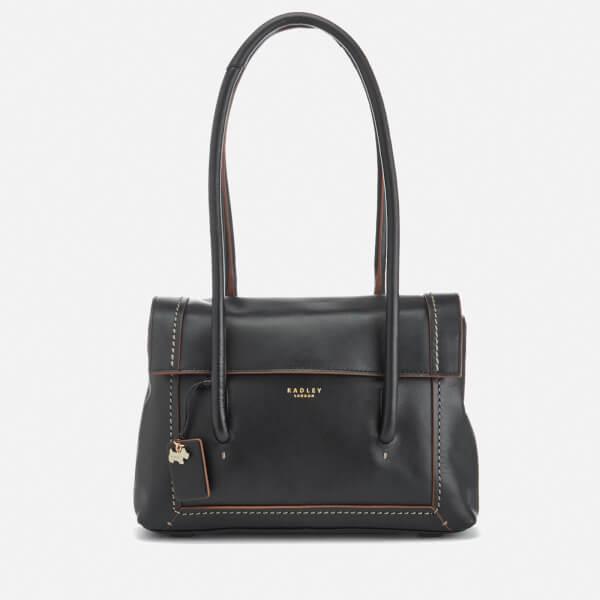 Radley Women's Boundaries Medium Flapover Tote Bag - Black