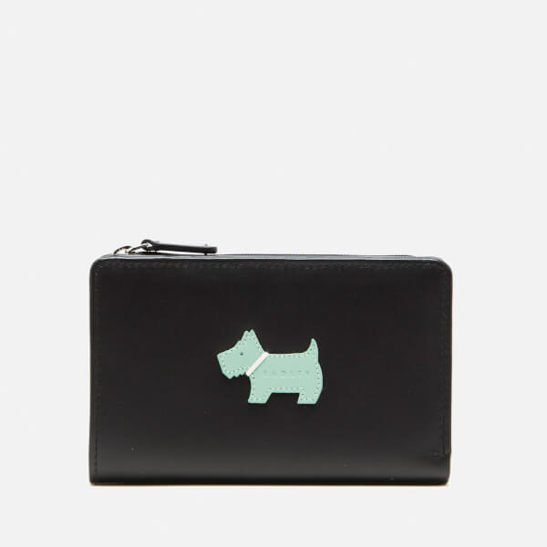 Radley Women's Heritage Dog Medium Ziptop Purse - Black