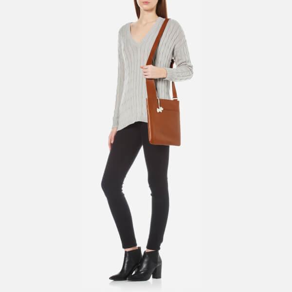 641b8b9d7e Radley Women s Pocket Bag Medium Zip Top Cross Body Bag - Tan  Image 2