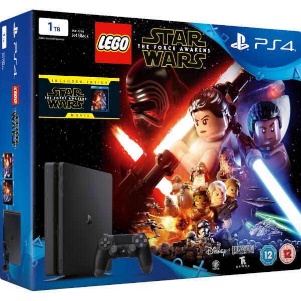 Sony PlayStation 4 Slim 1TB Console - Includes LEGO Star Wars: The ...
