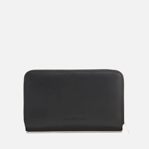 Alexander Wang Women's Dime Continental Bar Zip Around Purse - Black